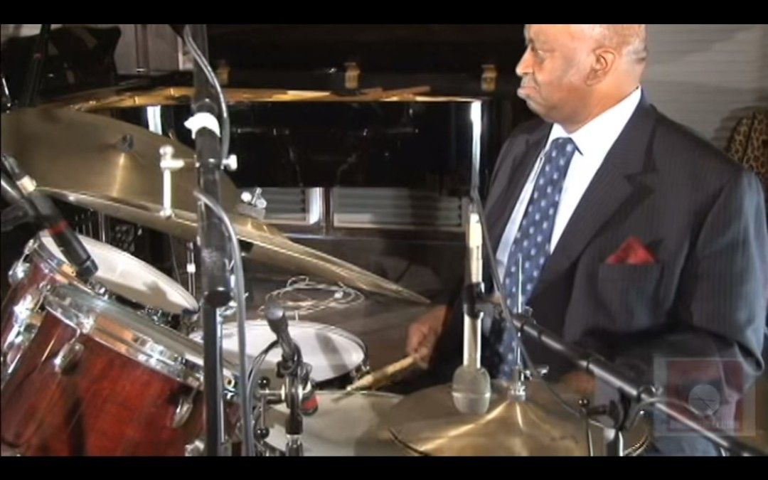 Bernard Purdie in the studio – Second Line Rhythm