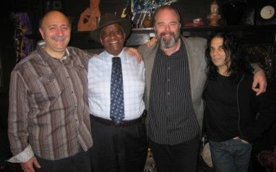 Bernard Purdie John Anter and Marty Ballou SPLATT Recording Session