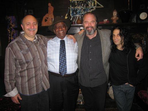 Bernard Purdie John Anter and Marty Ballou SPLATT Recording Session